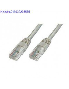 UTP patch cable 1m gray