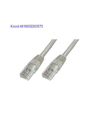 Соединительный кабель UTP 1м серый