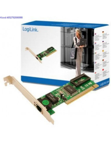 PCI 10/100 Сетевая карта LogiLink PC0039