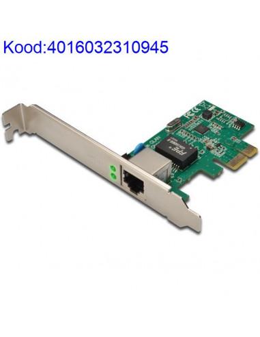 PCI Express võrgukaart Digitus...
