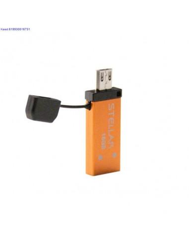 Mälupulk 16GB USB2.0/Micro USB OTG...