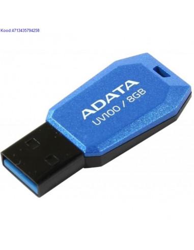 Флешка USB2.0 8GB A-Data DashDrive UV100
