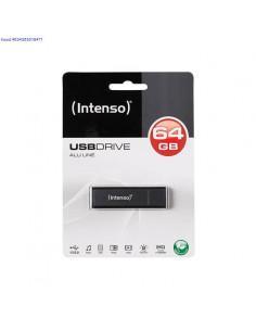 Mlupulk 64GB USB20 Intenso Alu Line 596
