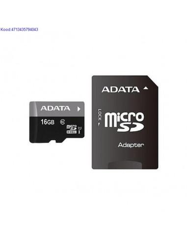 Memory Card Micro SDHC 16GB A-Data...