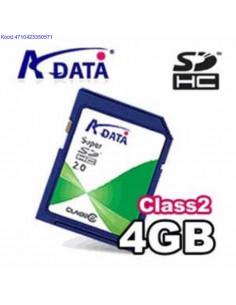Mlukaart Super SD 4GB AData Class2 610