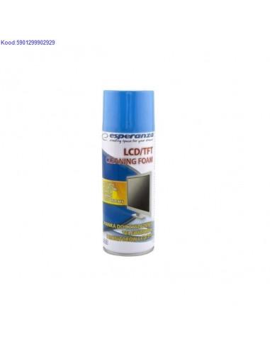 Puhastusvahend LCDTFT ekraanidele Esperanza 400ml 617