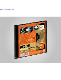 DVD+R toorik 8x 4,7GB Acme...