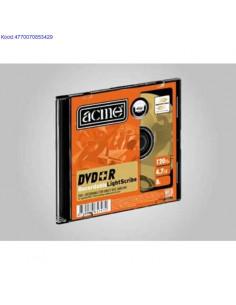 DVD+R диск 8x 4,7GB Acme...