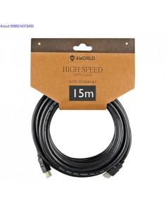 HDMI A - HDMI A kaabel 15m...