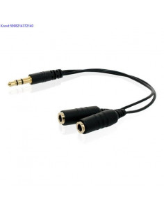 Stereo audio cable 3,5mm to...