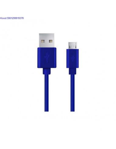 USB kaabel MaleA to MicroB 1m Esperanza sinine 664