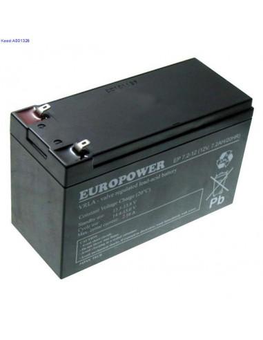 Батарея ИБП Europower EP7.2-12 12V...