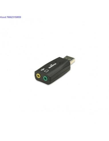 Звуковая карта для USB Manhattan 3-D...