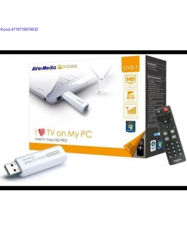 TV kaart USB20 AVerMedia Volar HD Pro puldiga 691