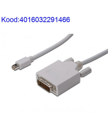 Mini Display M to DVI-D M cable 2m...
