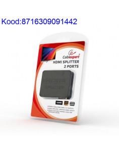 HDMI signaali jagaja splitter 2 porti Cablexpert 695