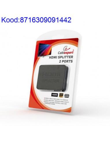 HDMI сплиттер с 2 портами Cablexpert