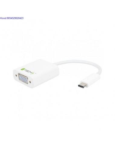 USB-C 3.1 на VGA M адаптер Techly