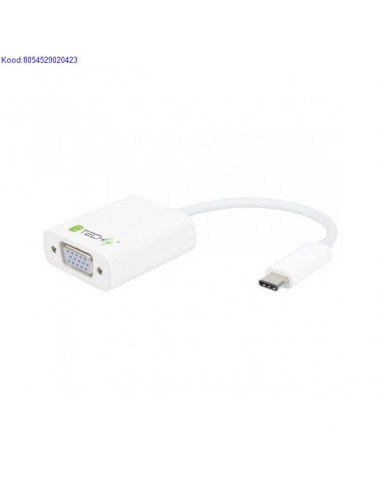 USBC 31 to VGA M adapter Techly 701