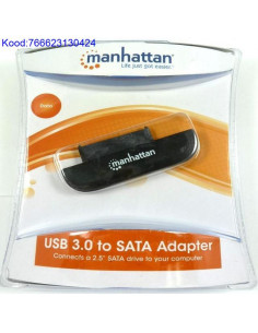 SATA kvaketta 25 adapter USB30 Manhattan 702