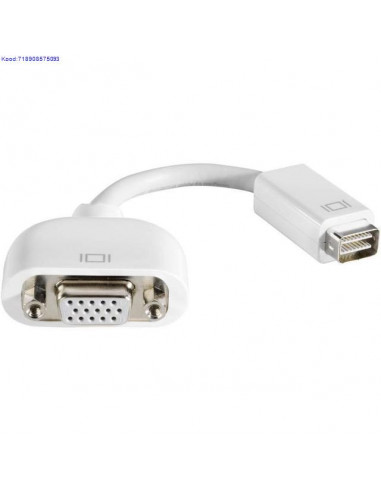 Apple Mini-DVI на VGA адаптер