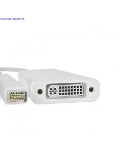 Mini DVI Male to DVI Female leminek Qoltec 705