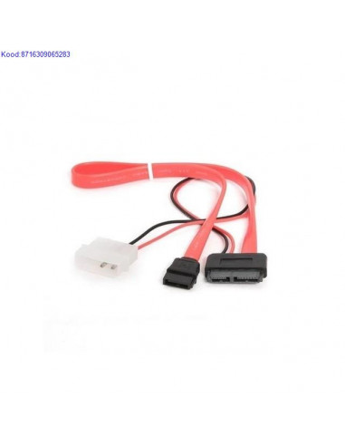 SATA Data ja toitekaabel 2pin 35cm Cablexpert CCSATAC2 717