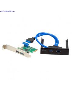 USB30 PCI Express Card itec 4porti 733