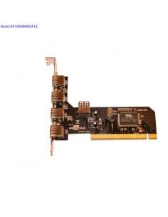 USB 2.0 jagaja PCI 4-porti...