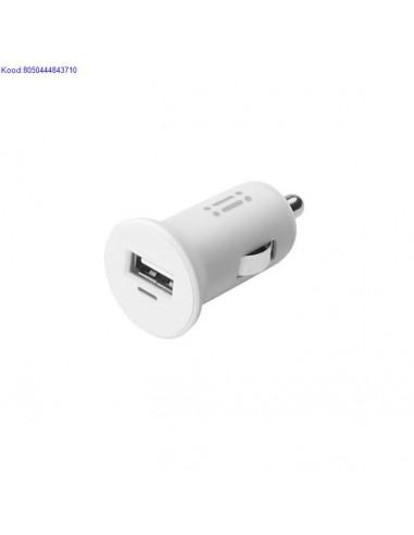 USB otsaga laadija auto sigaretistaja pessa Aiino 24A valge 748