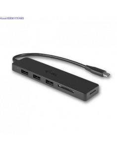 SDSDHCSDXC mlukaardi lugeja USBC Slim Hub ITec 3 porti 789