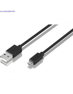 USB kaabel Male-A - Micro-B...