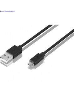 USB kaabel MaleA  MicroB Esperanza 15m must 803