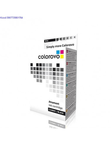 Tindikassett Colorovo 15BK Black 50ml Analoog 815