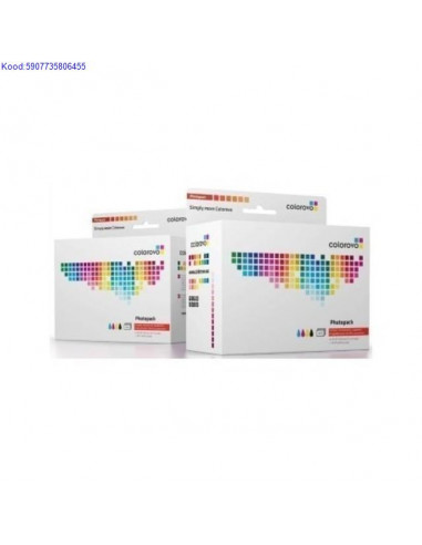 Inkjet Cartridge Set Colorovo Canon...