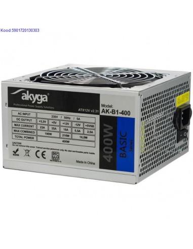 ATX блок питания Akyga Basic 400W...