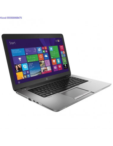 HP EliteBook 850 G2 SSD kõvakettaga...
